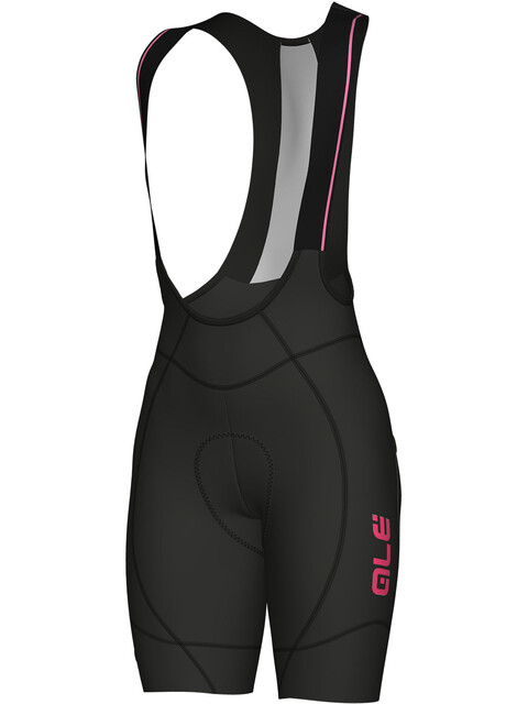 Alé Cycling PRR 2.0 Agonista 2 Bibshorts Women black-fluo pink